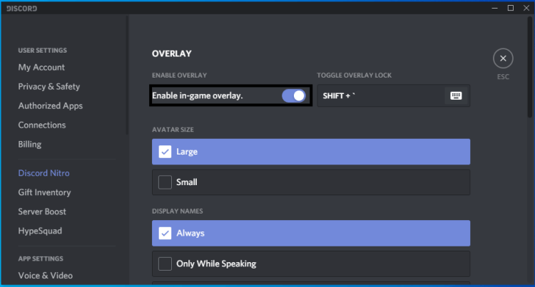 minecraft-not-responding-on-startup-disable-discord-overlay