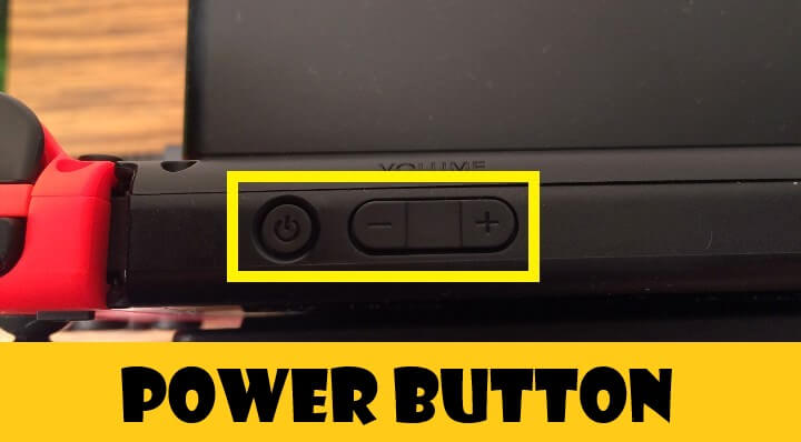 nintendo switch power button