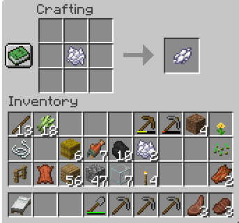 how-to-Make-White-dye-in-minecraft