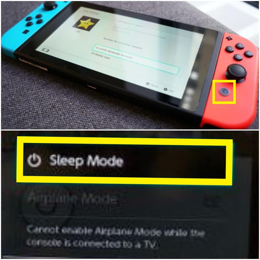 Nintendo switch sleep mode