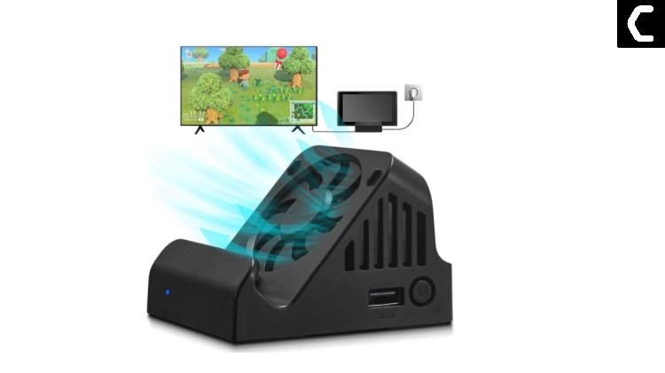 Using a USB fan with the dock for Nintendo