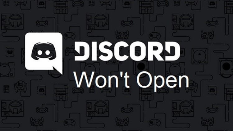 discord wont open - not opening