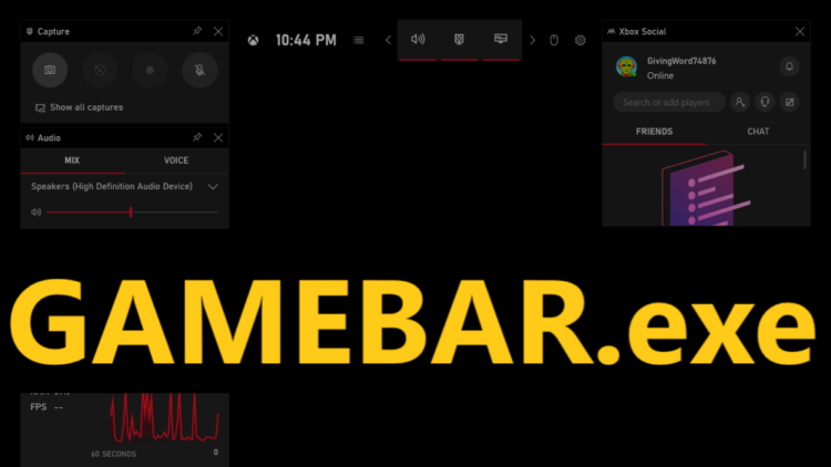 How to Disable Gamebar.exe in Windows 10