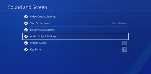 get discord on ps4 audio setting