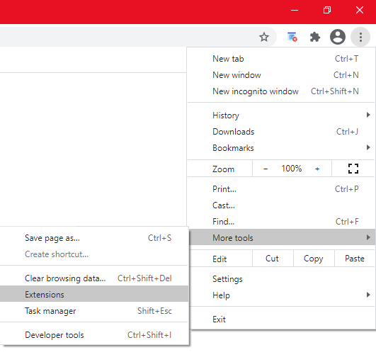 remove extension for twitch black screen