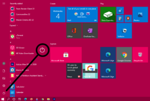 how to shutdown windows 10