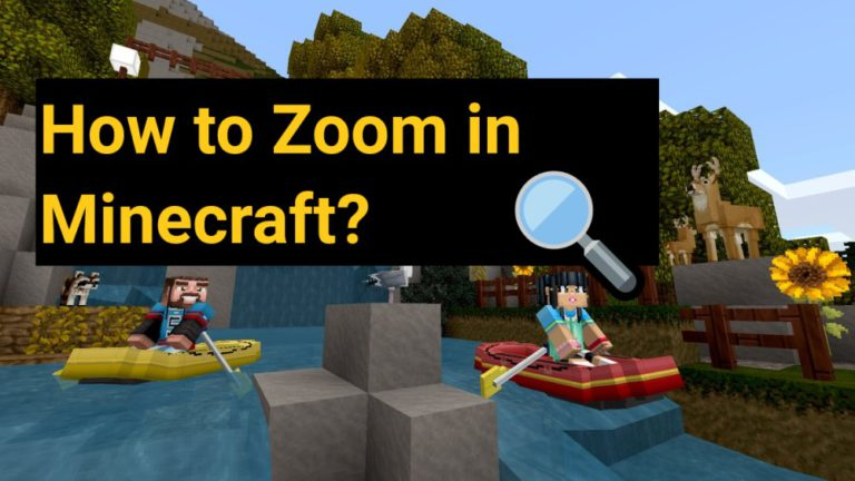 How to Zoom in on Minecraft [With + Without Optifine]
