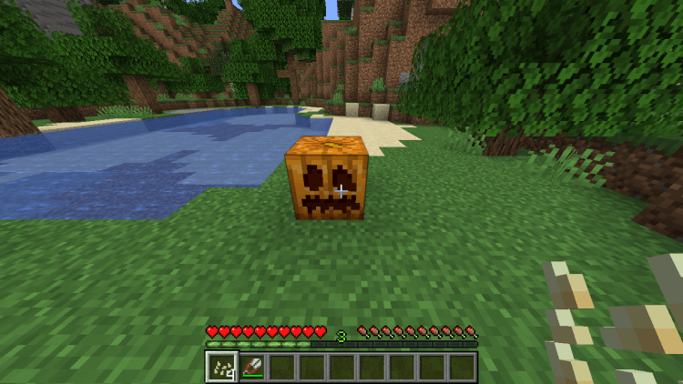 how-to-carved-pumpkin-in-minecraft-use-shears-to-carve-a-face-on-pumpkin