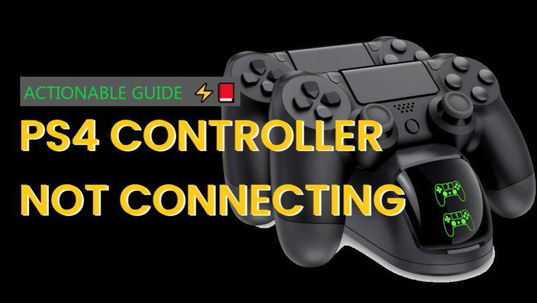 PS4 Controller Not Connecting to PS4