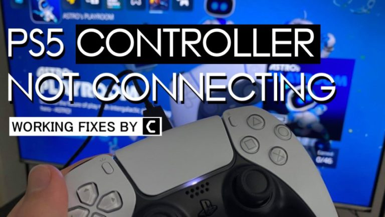 PS5 Not Connecting to Controller? PS5 Controller Not Connecting to Console