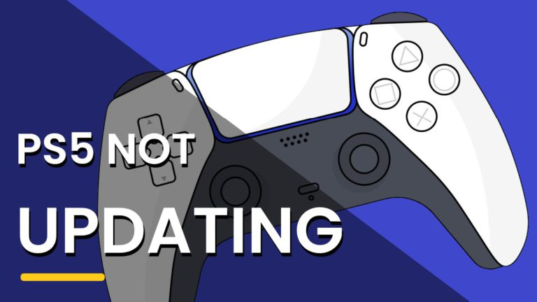 PS5 Not Updating? Won't Update Software?