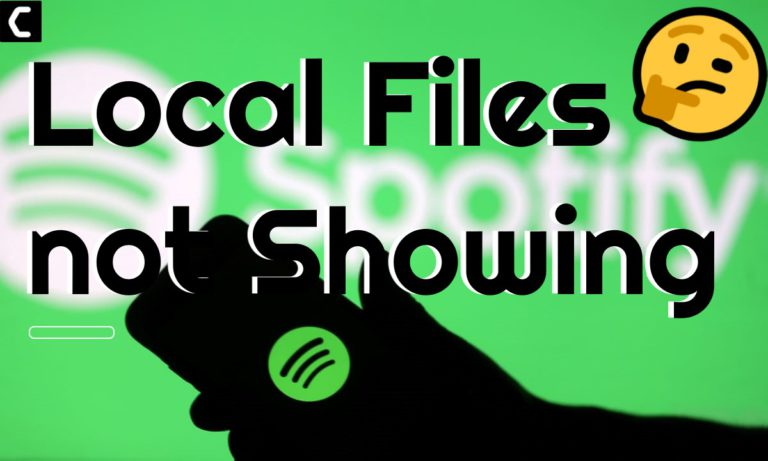 Spotify Local Files not Showing
