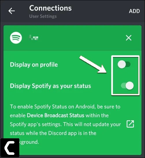 Enable Display Spotify as your status button - Spotify not Showing on Discord