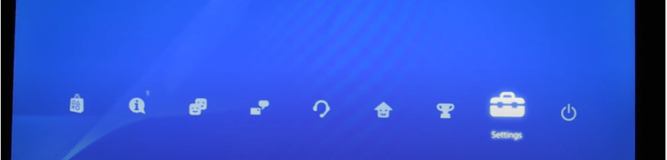 Connect the PS4 to the Internet