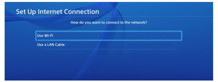 Connecting with Wi-Fi Minecraft on ps4