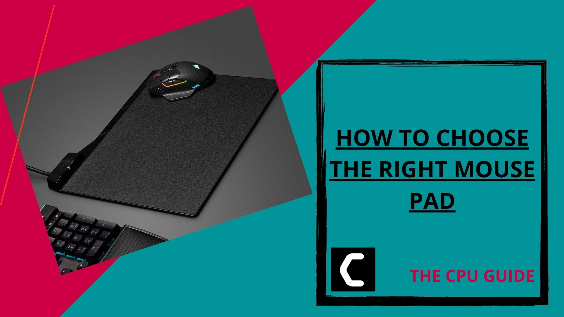 How to Choose the Right Mouse Pad