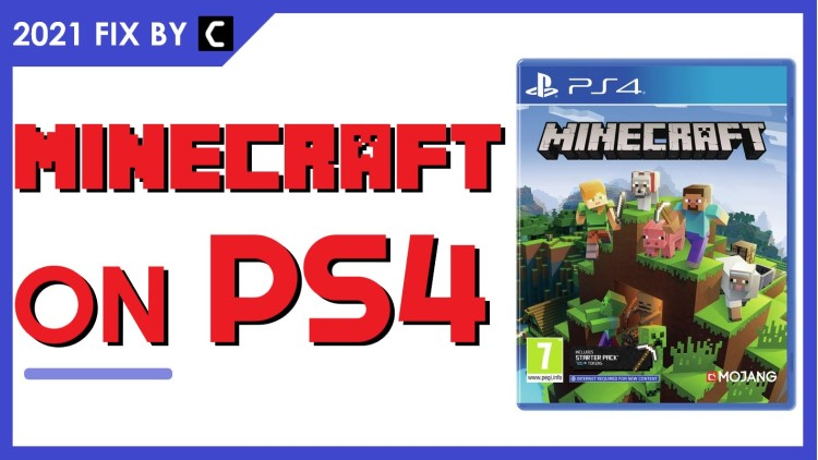 Minecraft on PS4