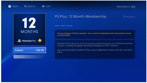 Step 3: Subscribe to PlayStation Plus