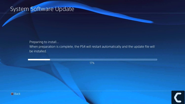 update ps4 system software