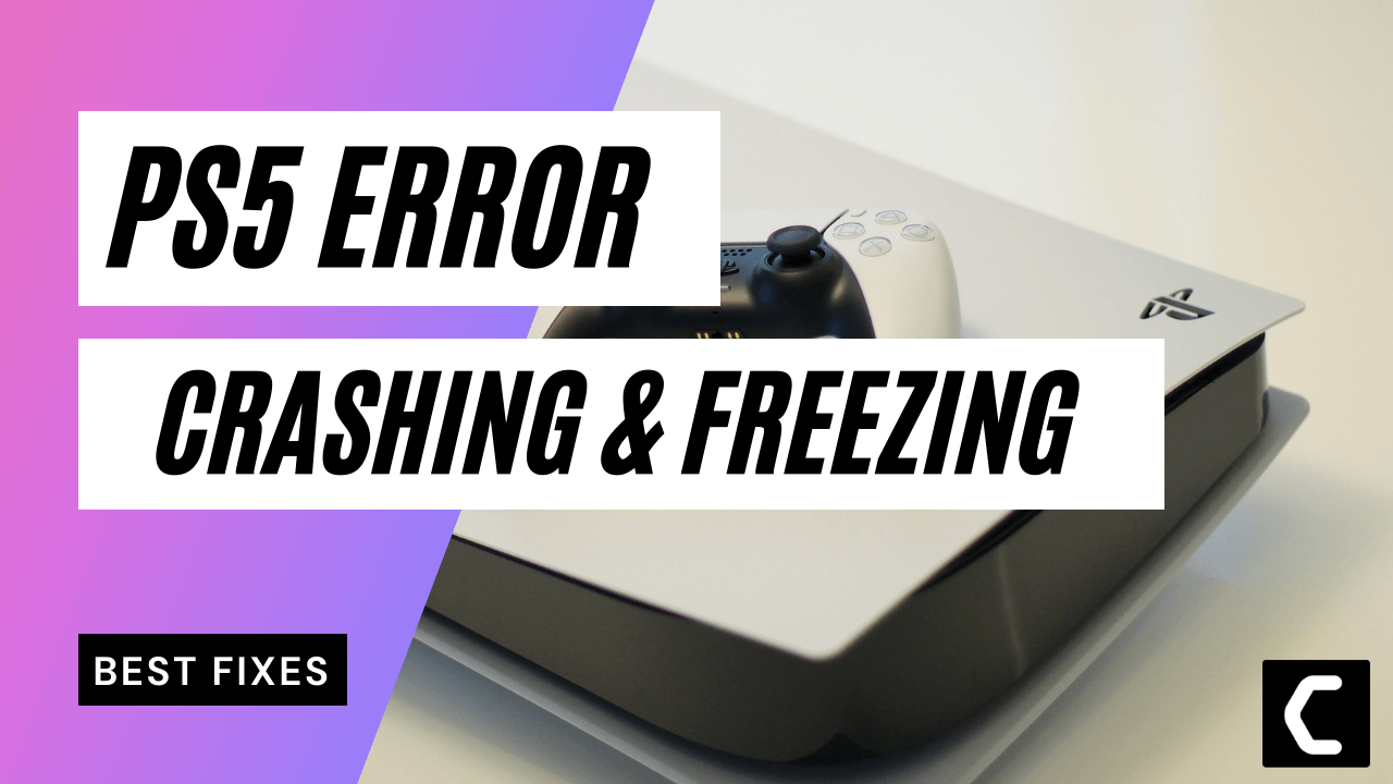 How To Fix PS5 Crashing Or Freezing | SIMPLE WAYS EXPALINED