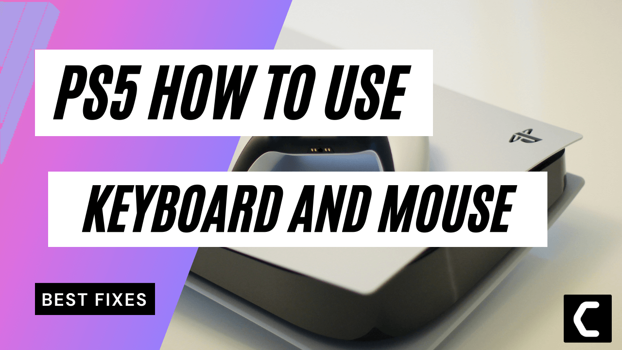 How To Use Keyboard and Mouse on PS5
