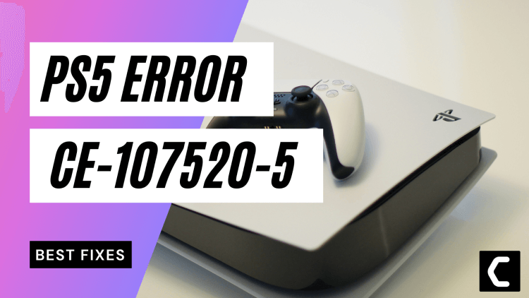 PS5 Error Code CE-107520-5? Install Latest System Software?