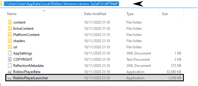 copy roblox shaders file location
