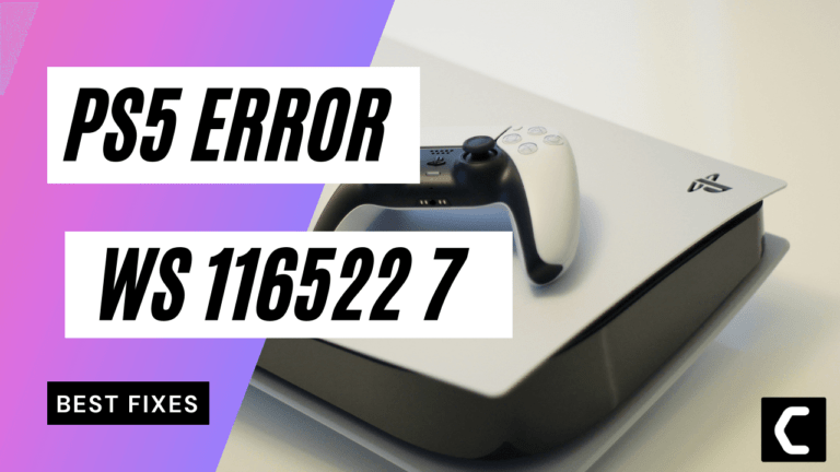 """PS5 Error Code WS-116522-7? """"The Latest Version of System Software is Not Recognized"""""""