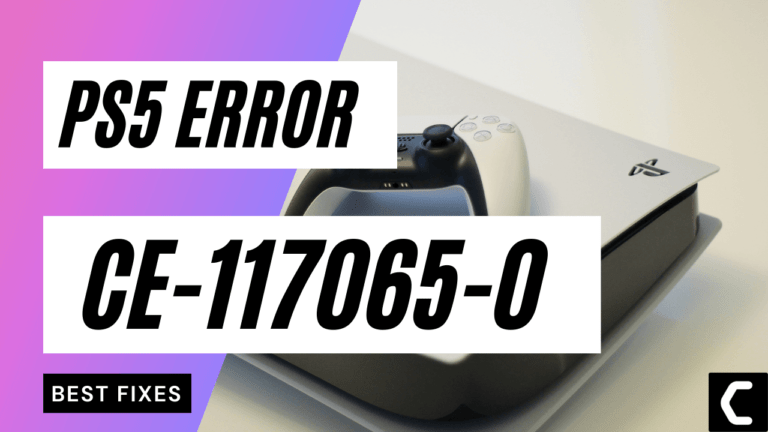 PS5 Error Code CE-117065-0? Can't Load Trophies or Unable to Join a Party Chat?