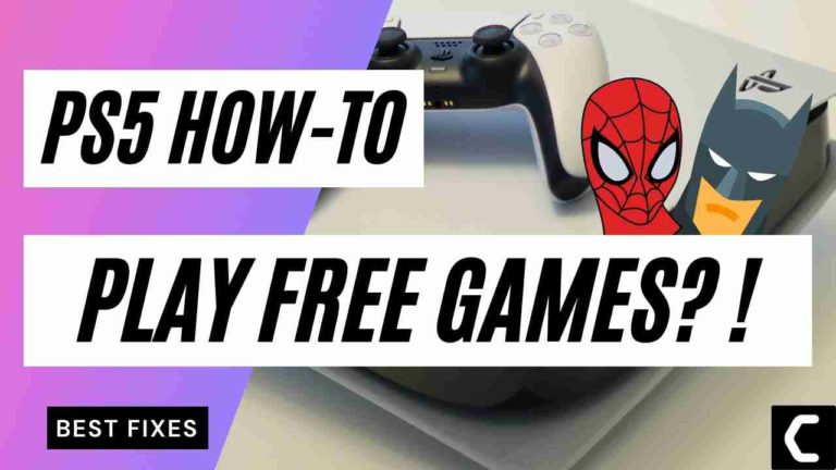 How To Play Free Games On PS5? Access PS4 Games Easily on Your PS5 for FREE?