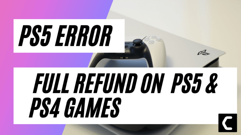 How To Get A Full Refund On PS4 & PS5 Games?
