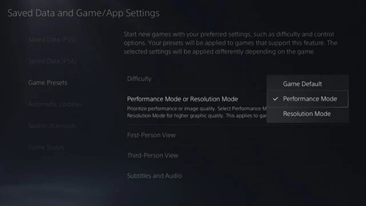 how-to-turn-on-120fps-on-ps5-game-preset-resolution-or-performance