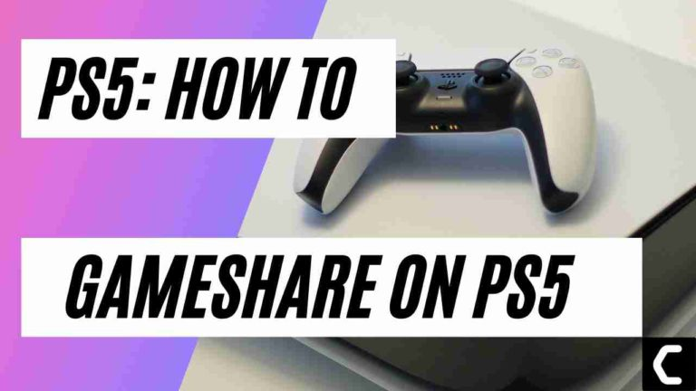 How To Gameshare On PS5? Console Sharing and Offline Play?
