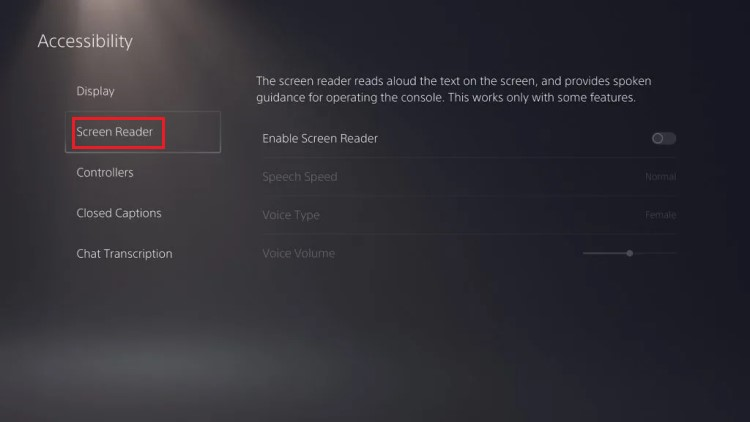 how-to-turn-off-screen-reader-on-ps5