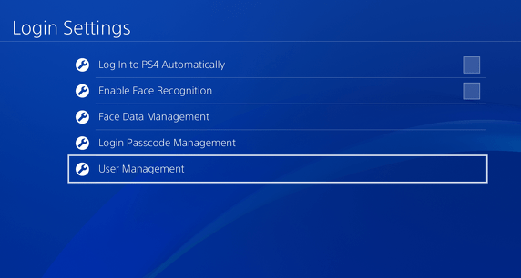 How to Delete a User Profile on PS4