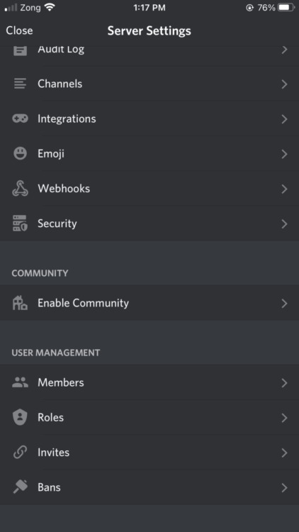 discord mobile assign roles