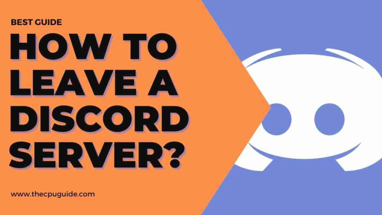 How to Leave Discord Channel? Leave Discord Server PC/MOBILE/iOS?