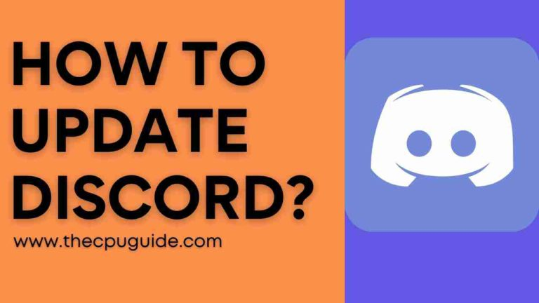 How to Update Discord? Discord App for Windows 10?