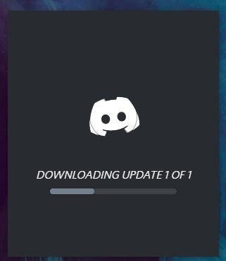 how to update discord on stratup