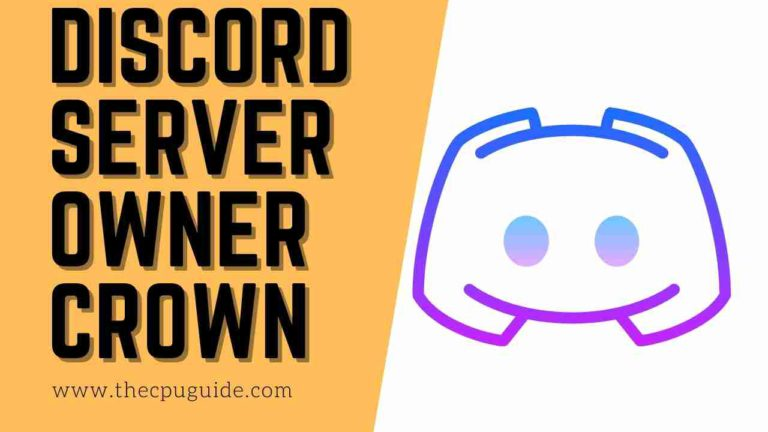 How To Get Discord Server Owner Crown?