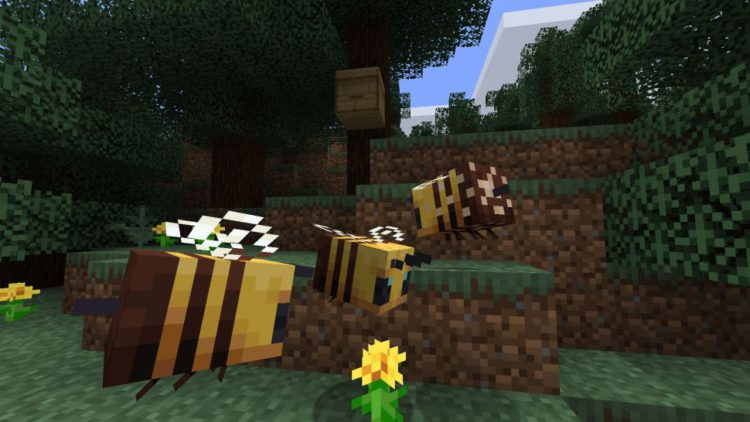 How to Get Bees in Minecraft?
