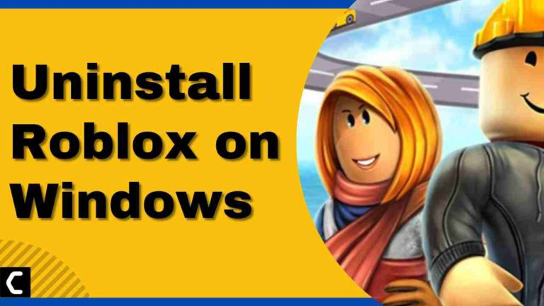 How To Uninstall Roblox on Windows 11/10/7?