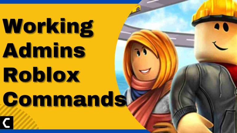 List of Working Admins Roblox Commands