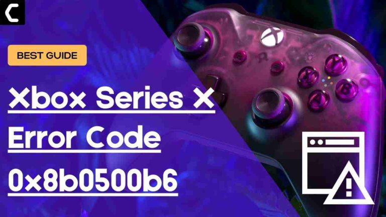 Xbox Series X Error Code 0x8b0500b6? There was a problem with the Update Xbox Series X/S?