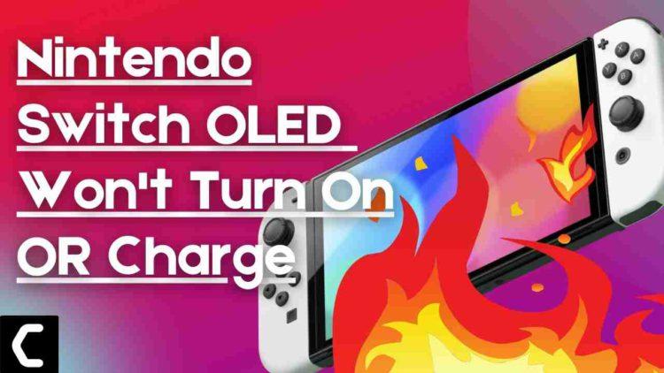 Nintendo OLED Switch Won't Turn On? Nintendo Oled Switch Won't Power On?