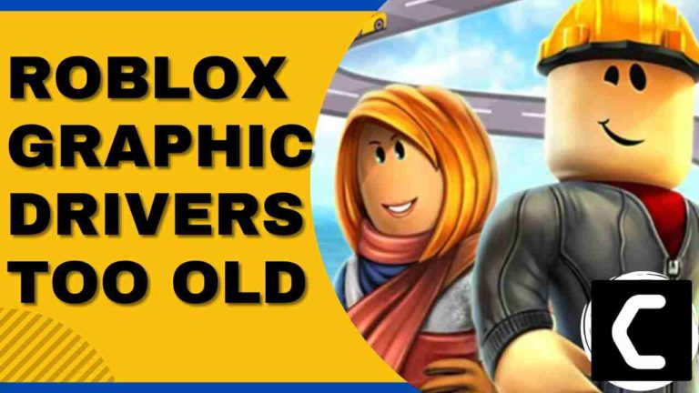Roblox Graphic Drivers Seem to Be Too Old? Roblox texture Not Loading?