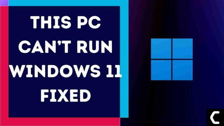 This PC Can't Run Windows 11? Force Windows 11 Compatibility Check?