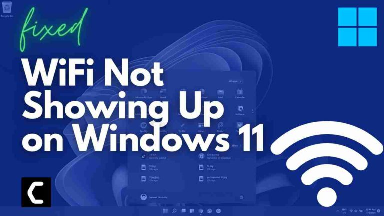 How To Fix WiFi Not Showing Up on Windows 11? WIFI network is not showing up on your PC?