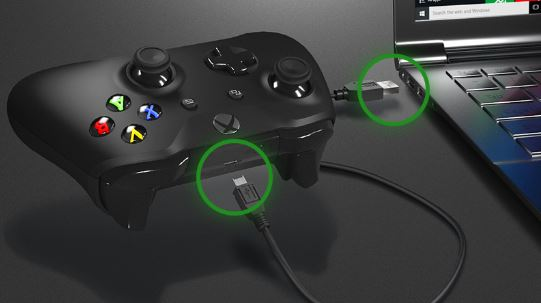 connect xbox series x controller to pc