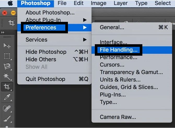 Photoshop Scratch Disks are full error.